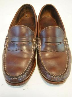 Rancourt Beefroll Penny Loafers Carolina Brown 9E Used