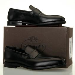 Churchs Parham Black Leather Penny Loafers - Size UK 9.5 G