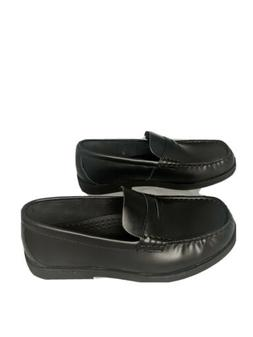 Sperry Colton Penny Loafer Boys, Black Leather, Size 5