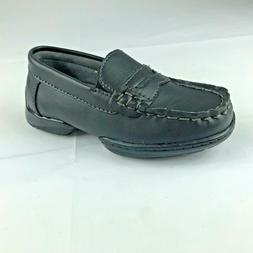 Freeman Boys Black Penny Loafers Size 8M New In Box