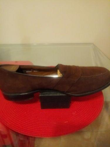 Allen penny loafers. 12E. Only $69.00