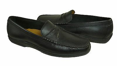 cole haan pinch cup penny loafers black