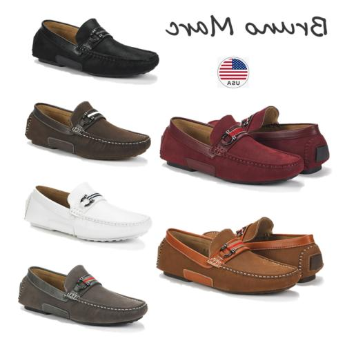 men s casual driving loafers breathable slip