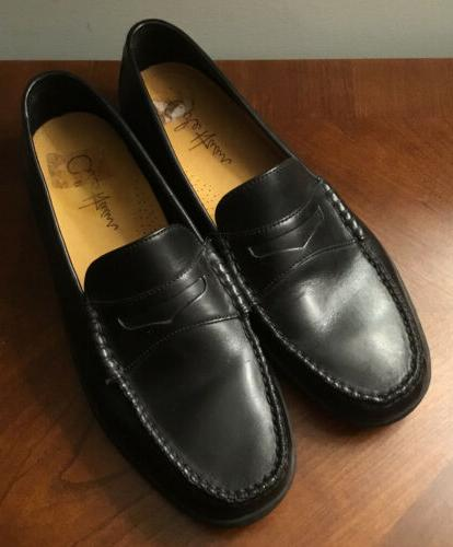 nwob pinch cup penny loafers black shoes