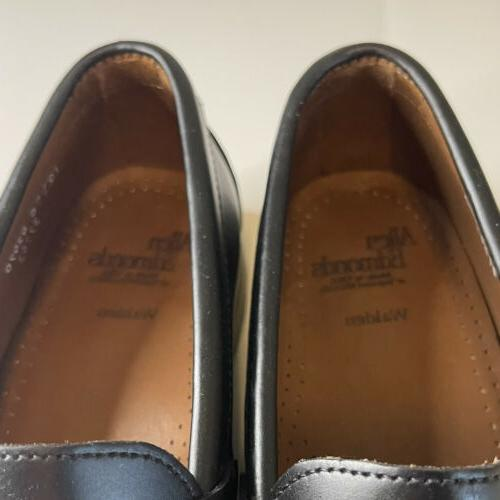 Allen Edmonds Leather Men's Penny Made in USA 10 C
