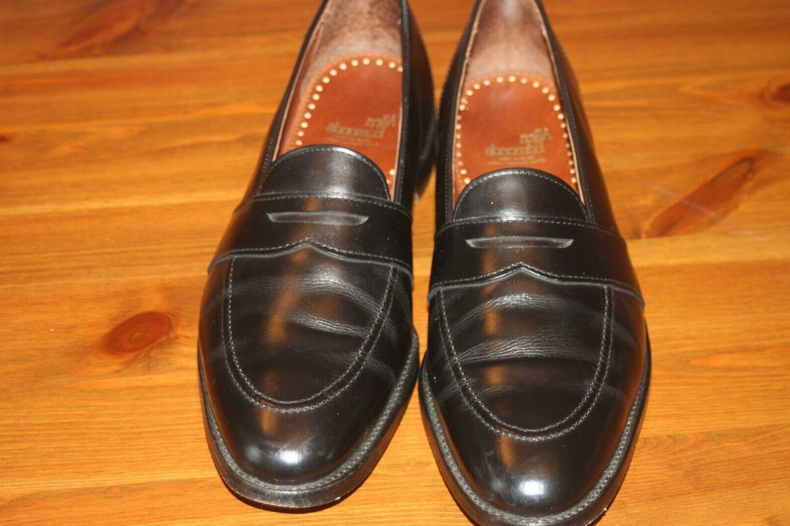 Allen Edmonds Westchester 10.5 Made USA Leather Loafers