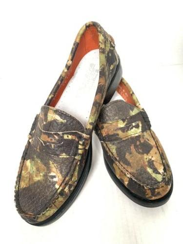 women s market penny loafer camo camouflage