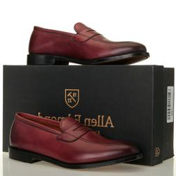 Allen Edmonds Lake Forest Oxblood Leather Penny Loafers - Me