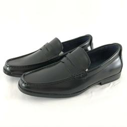 Bruno Marc Mens Harry-02 Pu Dress Penny Loafers Black Shoes