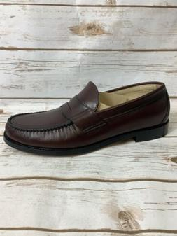 SAS Men's Penny 40 Cordovan Dress Loafers Size 11 Wide NIB