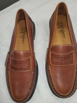 Cole Haan Mens Penny Loafers Brown Size 6.5 M New Without Bo