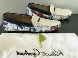 NEW Robert Graham Haryanto Penny Loafers  Shoes ~ Men's S 8.