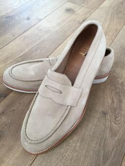 NEW Jcrew Kenton Suede Penny Loafers With White Soles C4212