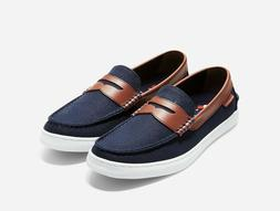 NEW Cole Haan Nantucket Mens Penny Loafer in Blue Blazer - S