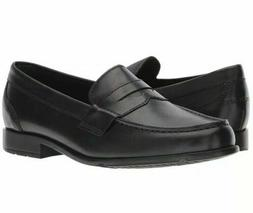 Rockport Penny Loafer Black Classic Leather with TruTech M76