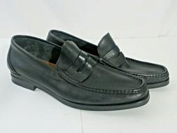 Florsheim Penny Loafers Black X Tra Soft Leather Shoes Size
