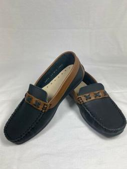 Kid Express Penny Loafers - Youth Size 3, Navy
