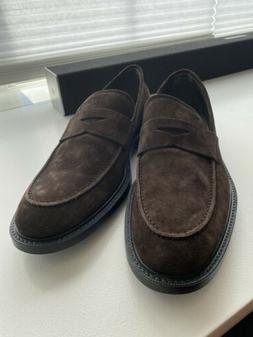 Tod's Suede Penny Loafers Size UK 8.5 / EUR 42.5 / US 9.5
