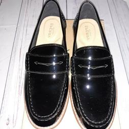 Sperry Women's Seaport Patent Penny Loafer Size 8.5M S-015