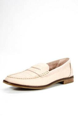 Sperry Womens Slide On Seaport Penny Loafers Rose Dust Pink
